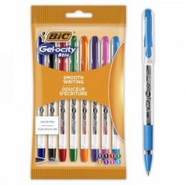 BIC Gel-ocity  Długopis żelowy Stic 0.5mm 8szt