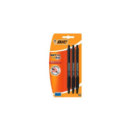 BIC Długopis Soft Fell 3szt.