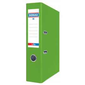 DONAU Segregator Life, neon, A4/75mm, zielony