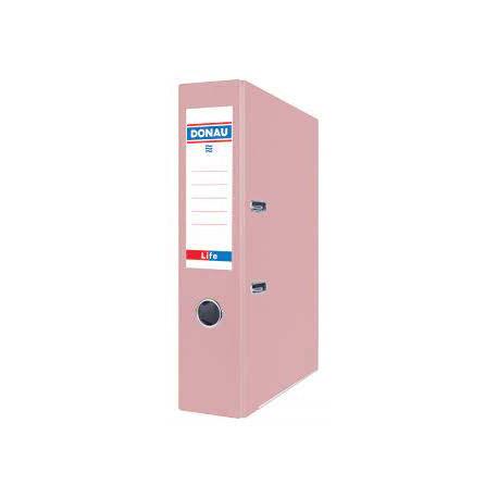 DONAU Segregator Life, neon, A4/75mm, różowy