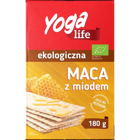 Yoga Life Ekologiczna maca z miodem 180 g (2 x 90 g)