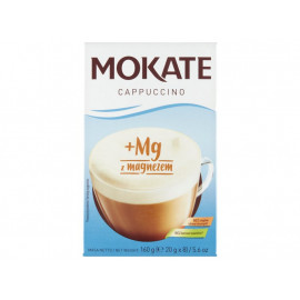 Mokate Cappuccino z magnezem 160 g (8 x 20 g)