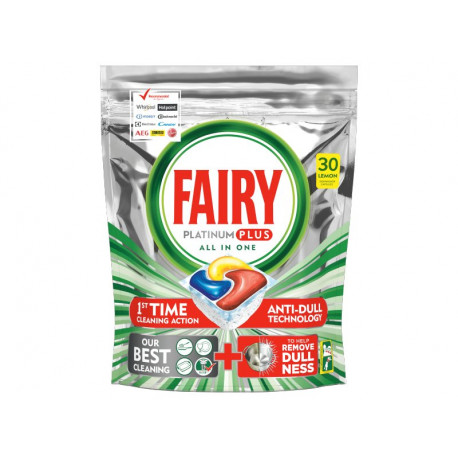 Fairy Platinum Plus All In One Regular Tabletki do zmywarki, x30