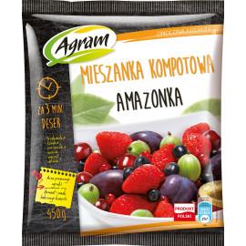 AGRAM AMAZONKA MIESZANKA OWOCÓW 450G