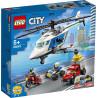 LEGO pościg helikopterem policyjnym 60243 wiek 5+