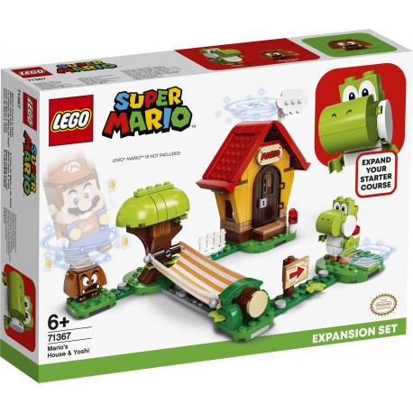 Lego Super Mario 71367 Mario's house & Yoshi wiek 6+