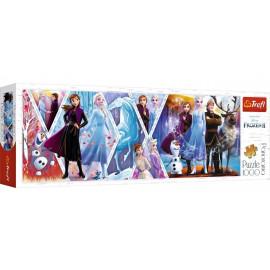 Trefl Puzzle 1000 panorama Frozen II