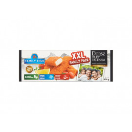 Family Fish Dorsz filet paluszki 450 g