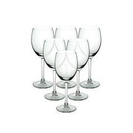 Altom Desing DIAMOND Komplet 6 kieliszków do wina białego 250 ml