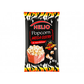 Helio Popcorn mega ostry do mikrofalówki 90 g