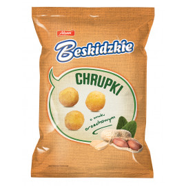 Beskidzkie chrupki kukurydziane o smaku orzechowym 85g