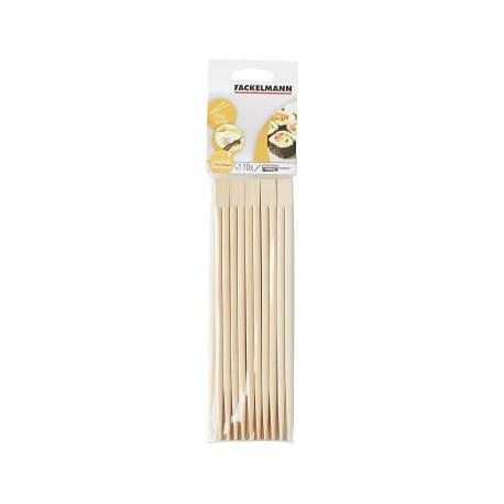 Fackelmann Pałeczki do ryżu  10 szt drewniane