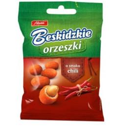 Aksam Beskidzkie orzeszki o smaku chili 70 g