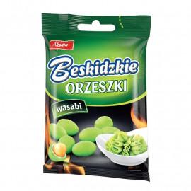 Aksam Beskidzkie orzeszki o smaku wasabi 70 g
