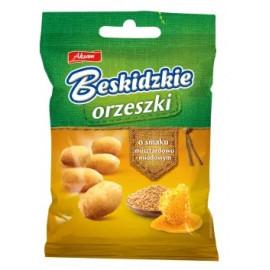 Aksam Beskidzkie orzeszki o smaku musztardowo - miodowym 70 g