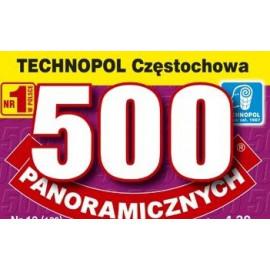 Technopol Krzyżówki 500 panoramicznych