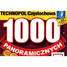 Technopol Krzyżówki 1000 panoramicznych