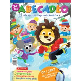 Abecadło Miesięcznik dla przedszkolaków 3-6 lat