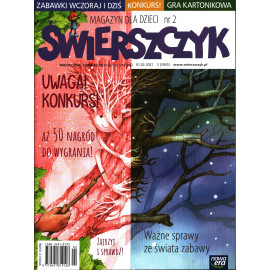 Świerszczyk Magazyn dla dzieci , miesięcznik .