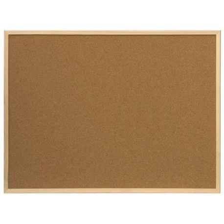 Bi - Office Tablica korkowa w ramie drewnianej 60 x 40 cm