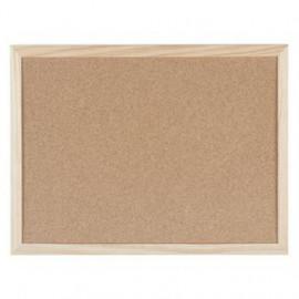 Bi - Office Tablica korkowa w ramie drewnianej 40 x 30 cm