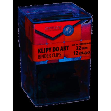 Office Products  Klipy do dokumentów 32mm , 12 sztuk