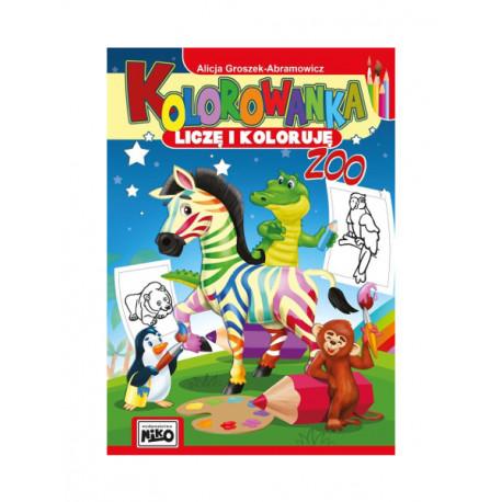 Alicja Groszek-Abramowicz Liczę i koloruję - zoo
