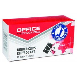 Office Products Klipy do dokumentów, 41 mm, 12 sztuk