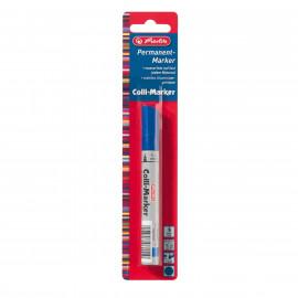 Herlitz  Marker permanentny niebieski 1 szt. 1-4 mm