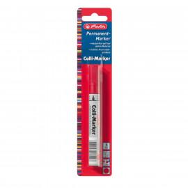 Herlitz  Marker permanentny czerwony 1 szt. 1-4 mm