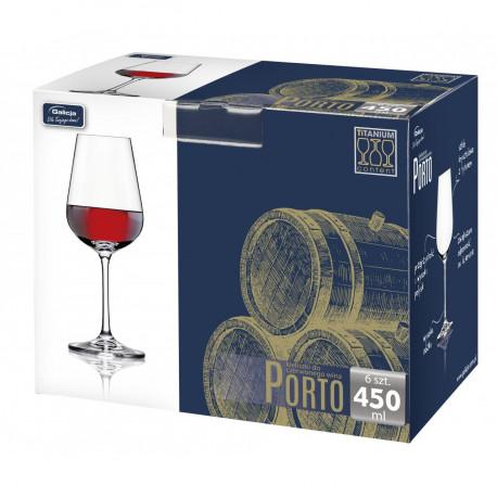 Galicja Kieliszki Porto do wina  450 ml , 6 szt.