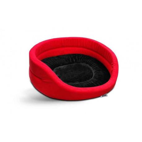 Hilton Legowisko czerwono-czarne 53 x 44 x 16 cm