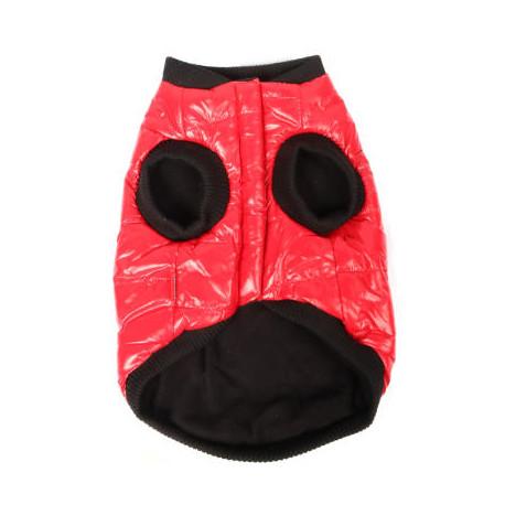 Mr.Tiger Kurtka dla psa kamizelka  wodoodporna czerwona