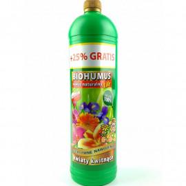 Biohumus nawóz naturalny -kwiaty zielone 1,25l