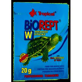 TROPICAL Biorept W medium sticks , pokarm dla żółwi ziemnowodnych i wodnych 20g