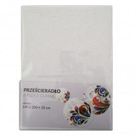 Tecomat Prześcieradło Jersey z gumką 140 x 200 +25 cm (mix kolor)