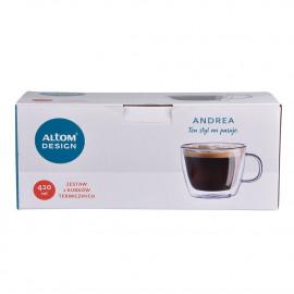 Altom Andrea Zestaw 2 kubków termicznych 420 ml