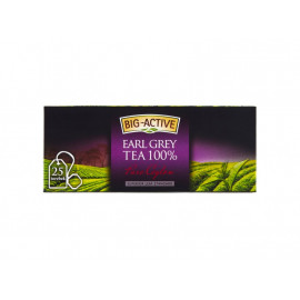 Big-Active Pure Ceylon Earl Grey Herbata 100% 37,5 g (25 torebek)