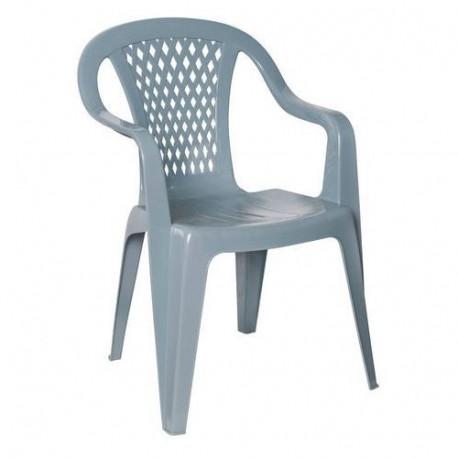 Ołer fotel plastikowy Diament bordowy