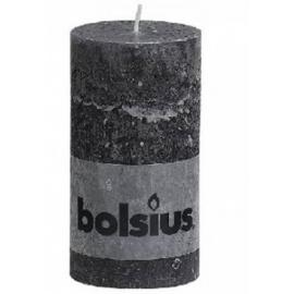Bolsius świeca anthracite 13x6,8cm