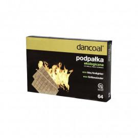 Dancoal Podpałka ekologiczna 64 kostki