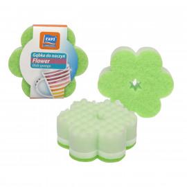Ravi gąbka do mycia naczyń-FLOWER 1szt