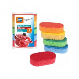 Ravi gąbki do mycia naczyń- ELIPPSE 5szt