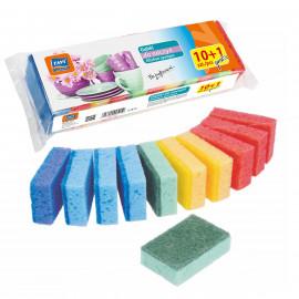 Ravi gąbki do mycia naczyń- mini 10szt