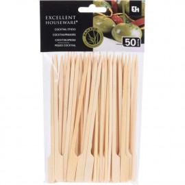 Excellent Houseware Wykałaczki bambusowe  koktajlowe 50szt. -15cm