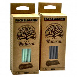 Fackelmann Eco Friendly Natural 70szt. Bio mix kolorów