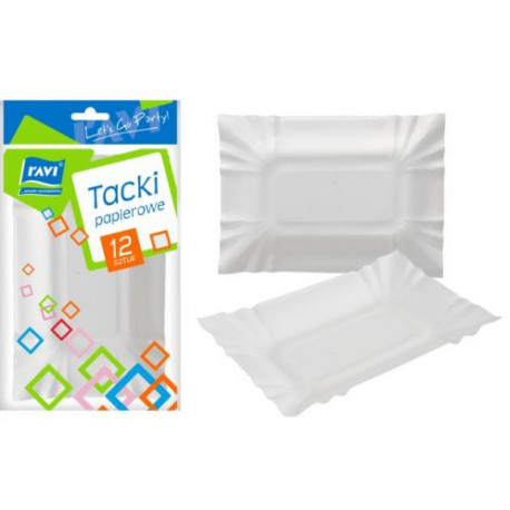 Ravi Tacki papierowe 12szt