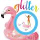 SAND&SUMMER glitter flamingo tube  71x89cm