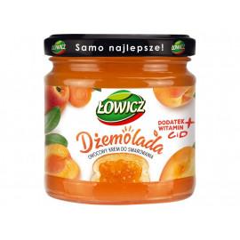 Łowicz Dżemolada Owocowy krem do smarowania pomarańczowy 200 g