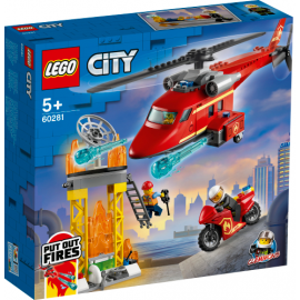 Lego strażacki helikopter ratunkowy 60281